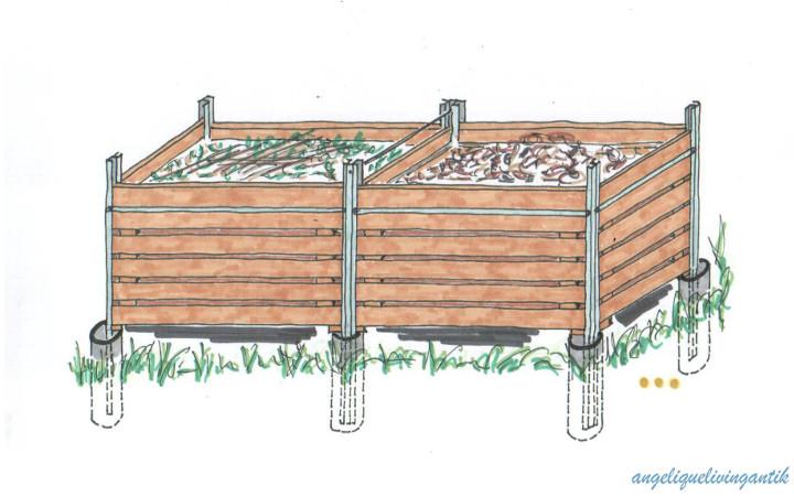 Kompostbehälter Selberbauen Angeliquelivingantik