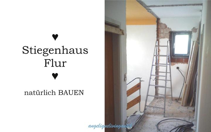 Umbau Stiegenhaus Flur