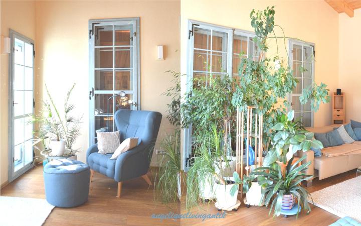 Zubau - mein Holzbau Wohnzimmer