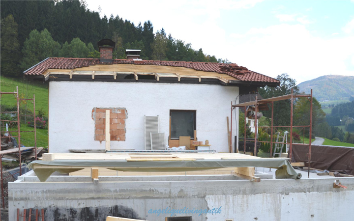 Zubau - mein Holzbau Terrasse