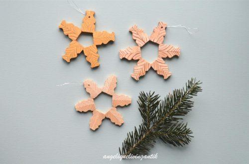 angeliquelivingantik Weihnachtssterne basteln