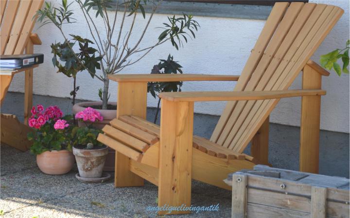 Gartenstuhl aus Lärchenholz