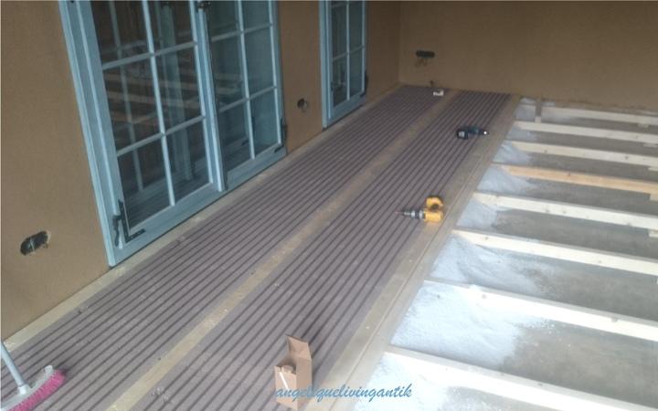 ökologischer Bodenaufbau für Fußbodenheizung