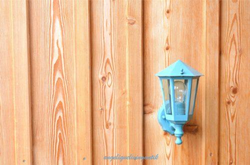 Hinterlüftete Holzfassade Lärche